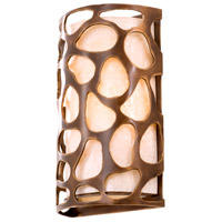 Kalco 501920CP Gramercy 2 Light 10 inch Copper Patina Wall Sconce Wall Light