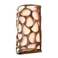 Kalco Lighting Gramercy 2 Light Wall Sconce in Copper Patina 501920CP