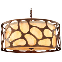 Kalco 501940CP Gramercy 5 Light 24 inch Copper Patina Pendant Ceiling Light