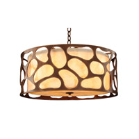 Gramercy 5 Light 24 inch Copper Patina Pendant Ceiling Light
