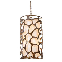 Kalco Lighting Gramercy 6 Light Foyer in Copper Patina 501950CP