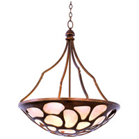 Kalco 501953CP Gramercy 5 Light 27 inch Copper Patina Pendant Ceiling Light