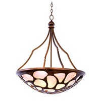 Gramercy 5 Light 27 inch Copper Patina Pendant Ceiling Light