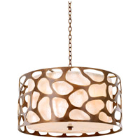 Kalco 501954CP Gramercy 6 Light 28 inch Copper Patina Pendant Ceiling Light