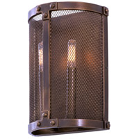 Kalco 502120CP Chelsea 2 Light 9 inch Copper Patina Wall Sconce Wall Light
