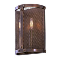 Chelsea 2 Light 9 inch Copper Patina Wall Bracket Wall Light