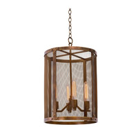 Kalco Lighting Chelsea 4 Light Foyer in Copper Patina 502153CP