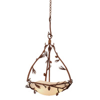Kalco Lighting Ponderosa 3 Light Pendant in Ponderosa 5021PD