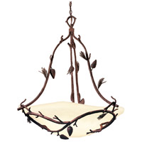 Kalco 5022PD Ponderosa 5 Light 28 inch Ponderosa Pendant Ceiling Light in Without Glass