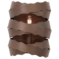 Kalco 502621BS Fulton 1 Light 7 inch Brownstone Wall Sconce Wall Light