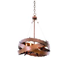 Kalco 502650BS Fulton 4 Light 20 inch Brownstone Mini Pendant Ceiling Light