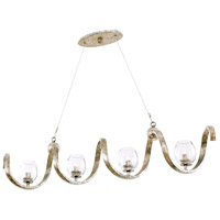 Madison 4 Light 45 inch Platinum Island Light Ceiling Light