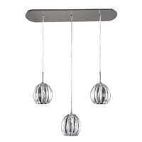 Kalco Lighting Viceroy 3 Light Island Light in Chrome 502957CH