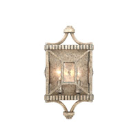 Kalco 503021PT Crystal Cove 2 Light 8 inch Platinum Wall Sconce Wall Light