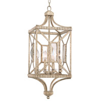 Kalco 503050PT Crystal Cove 4 Light 12 inch Platinum Foyer Ceiling Light