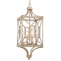 Kalco 503050PT Crystal Cove 4 Light 12 inch Platinum Foyer Ceiling Light