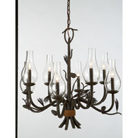 Kalco Ponderosa 8 Light Chandelier in Sycamore 5031SC/1439