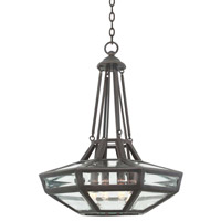 Kalco 503351HB Pompano 6 Light 30 inch Heirloom Bronze Pendant Ceiling Light