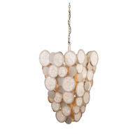 Kalco 503750CS Calypso 6 Light 20 inch Calypso Silver Pendant Ceiling Light