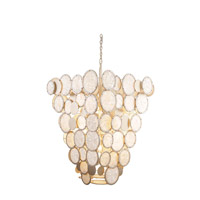 Calypso 9 Light 26 inch Calypso Silver Foyer Ceiling Light
