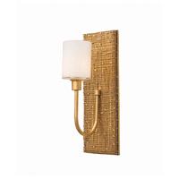 Kalco 504422GL Cestino 2 Light 12 inch Gold Leaf ADA Wall Sconce Wall Light