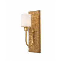 Kalco 504422GL Cestino 2 Light 12 inch Gold Leaf ADA Wall Sconce Wall Light