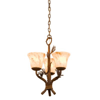 Ponderosa 3 Light 14 inch Ponderosa Hanging Pendant Ceiling Light in Neutral Swirl (1239)