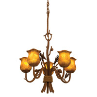 Kalco Lighting Ponderosa 5 Light Chandelier in Ponderosa 5045PD/NS01