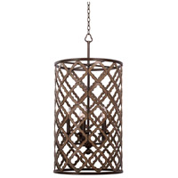 Whittaker 5 Light 18 inch Brownstone Foyer Ceiling Light