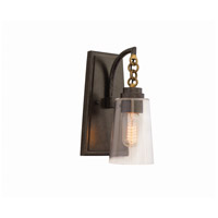 Dillon 1 Light 6 inch Milled Iron Wall Sconce Wall Light