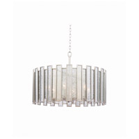 Kalco 505054TS Palisade 4 Light 27 inch Tarnished Silver Pendant Ceiling Light