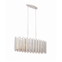 Kalco 505061TS Palisade 6 Light 12 inch Tarnished Silver Pendant Ceiling Light
