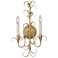 Kalco 505420OL Ainsley 2 Light 13 inch Oxidized Gold Leaf Wall Sconce Wall Light