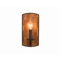 Kalco 505521BI Lansdale 1 Light 5 inch Black Iron ADA Wall Sconce Wall Light