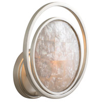 Kalco 505620SRS Garbo 1 Light 10 inch Sunrise Silver Wall Sconce Wall Light