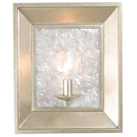 Kalco Pearl Silver Wall Sconces