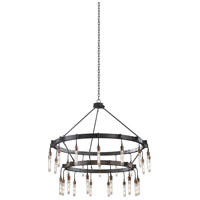 Stuyvesant 28 Light 48 inch Matte Gun Metal Chandelier Ceiling Light