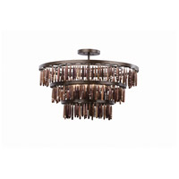 Unie 12 Light 24 inch Brownstone Pendant Ceiling Light