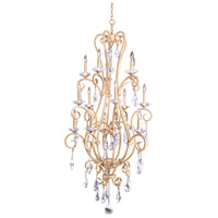Kalco 506772MG Palladium 15 Light 32 inch Modern Gold Chandelier Ceiling Light