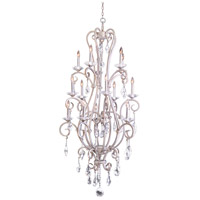 Kalco 506772PS Palladium 15 Light 32 inch Pearl Silver Chandelier Ceiling Light