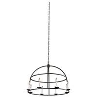 Kalco 506953BI Wickenburg 8 Light 34 inch Black Iron Pendant Ceiling Light