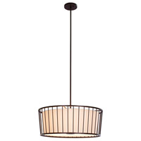 Pacifica 6 Light 24 inch Bronze Pendant Ceiling Light