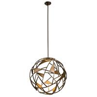 Kalco 507351BZG Neptune LED 28 inch Bronze Gold Pendant Ceiling Light