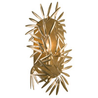 Jardin 1 Light 6 inch Oxidized Gold Leaf ADA Wall Sconce Wall Light