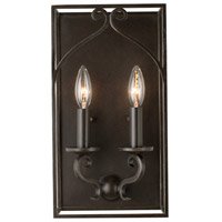 Somers 2 Light 4 inch Heirloom Bronze ADA Wall Sconce Wall Light