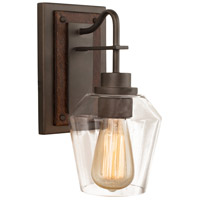 Kalco 508720BS Allegheny 1 Light 6 inch Brownstone Wall Sconce Wall Light