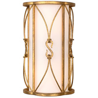 Kalco 509020OL Olivia 2 Light 7 inch Oxidized Gold Leaf Wall Sconce Wall Light