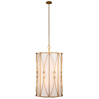 Kalco 509050OL Olivia 6 Light 20 inch Oxidized Gold Leaf Foyer Ceiling Light