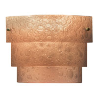 Kalco Cirrus 1 Light Wall Sconce in Chemical Bronze 5095CB