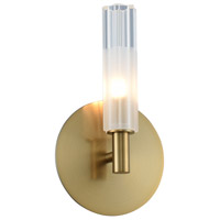 Kalco 509620WB Lorne 1 Light 6 inch Winter Brass Wall Sconce Wall Light